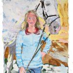 40_Katharina mit Verdener Pferd