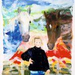 Kleines Kind mit großen Pferden (1998)