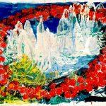 Schönes Wetter am Rosengartenmassiv (1989)